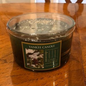 Yankee Candle Winter Woods 3 wick candle. NWT!